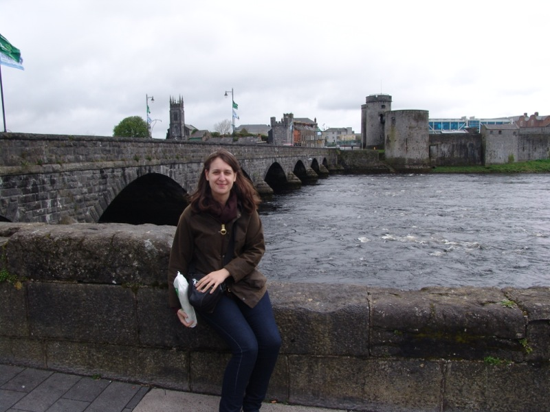 Sitting by the River Shannon
