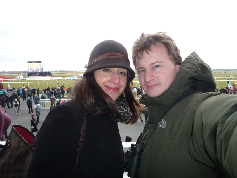 Me and J at The Irish Grand National.