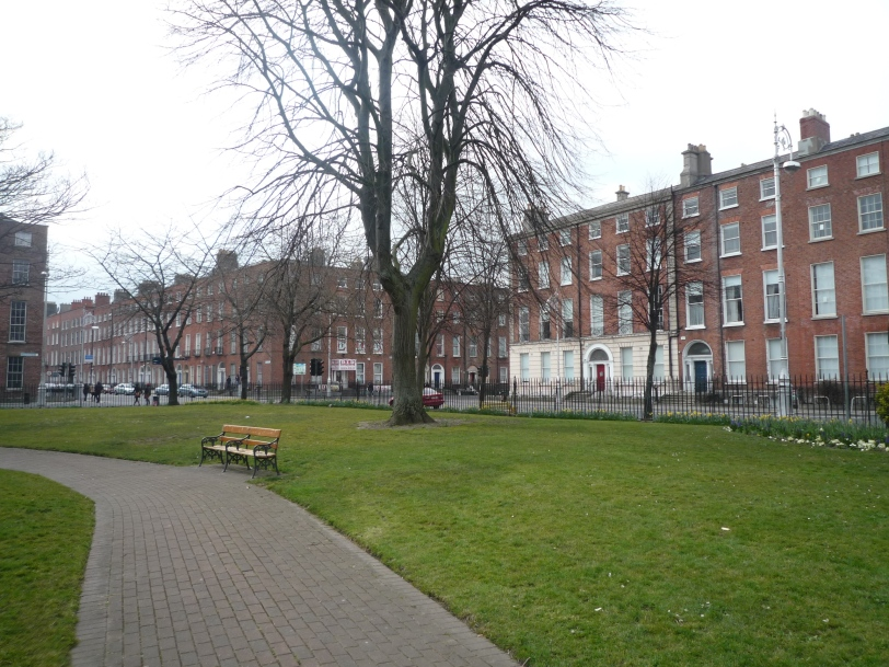 A Georgian Square in Dublin 1