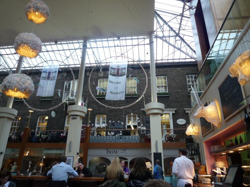 Inside Powerscourt Shopping Centre