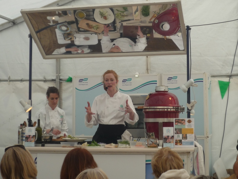 Live Demonstrations from Kitchen In The Castle Cookery School.
