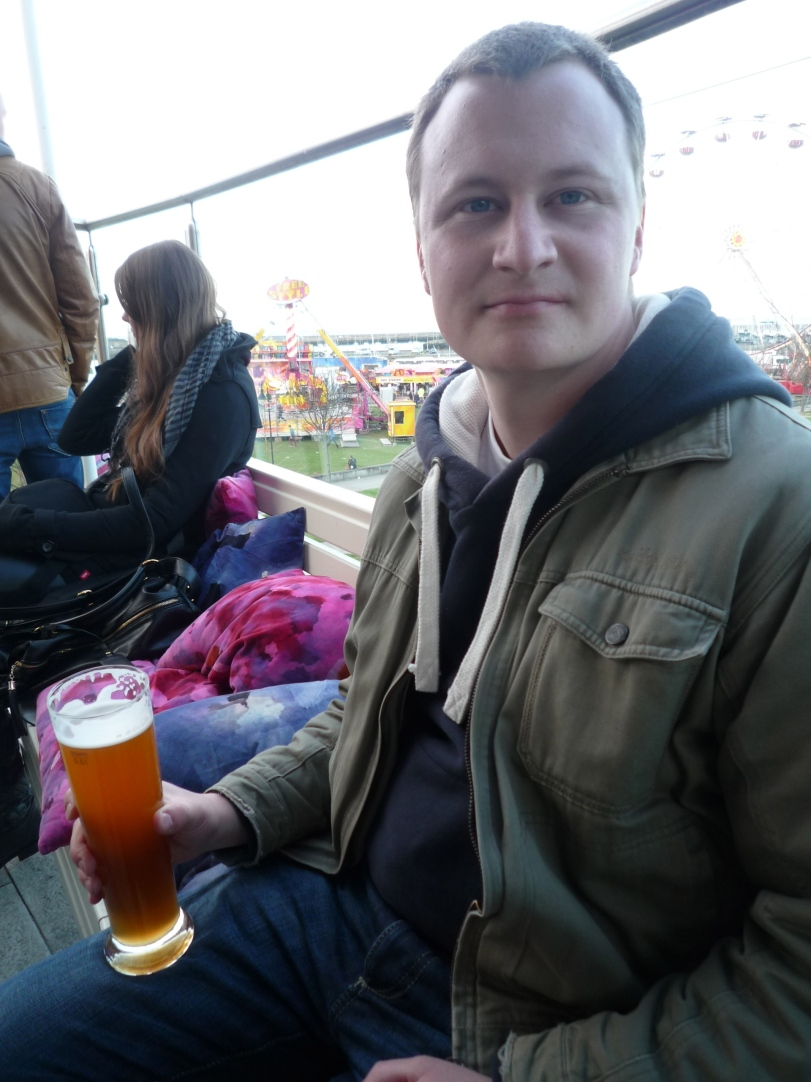 Post walk drink @ Findlater