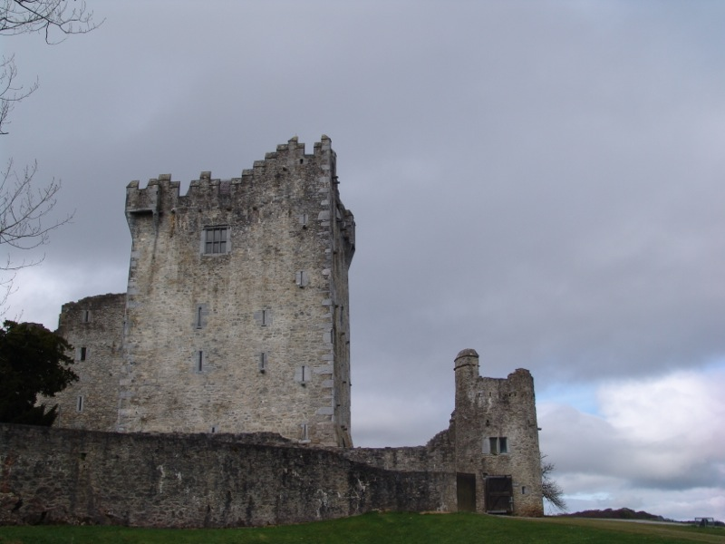 Ross Castle from the back.