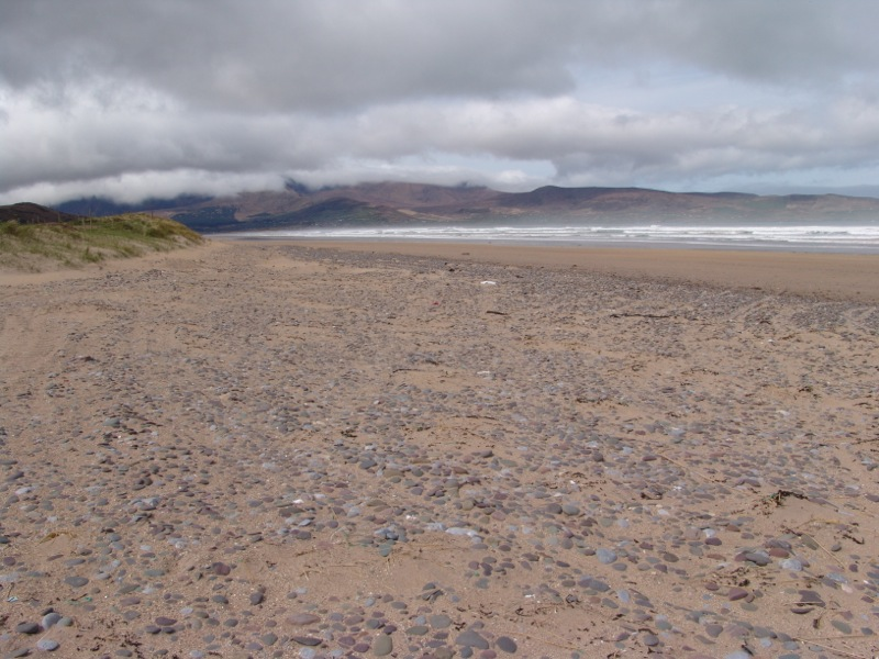 The beach near Castlegregory.