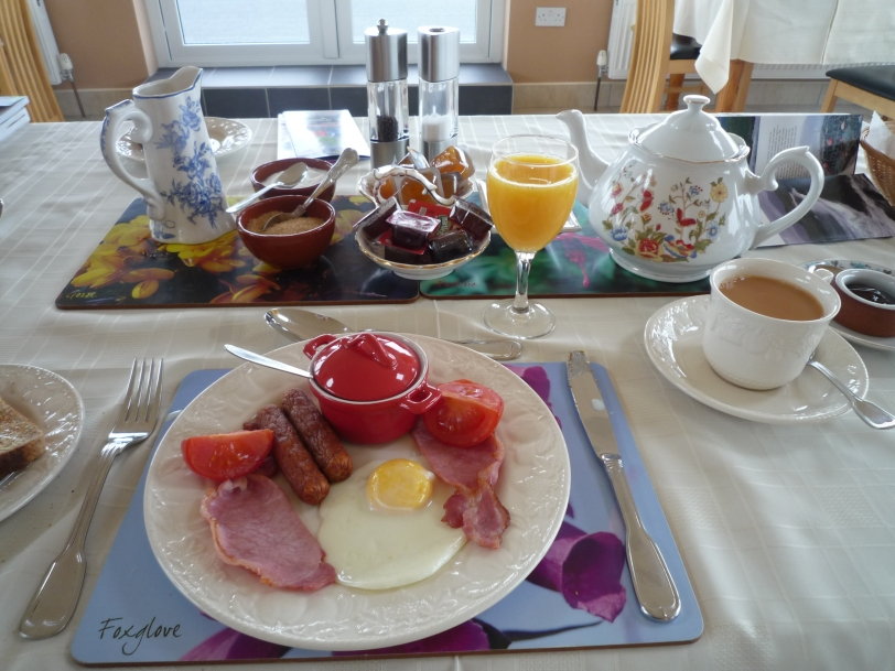 Amazing breakfast @ Shealane Country House B&B