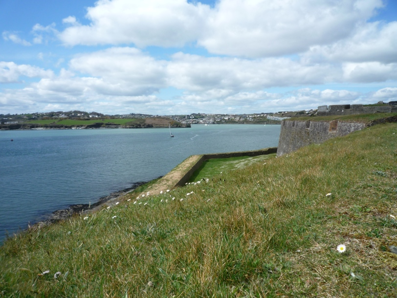 View over to James Fort