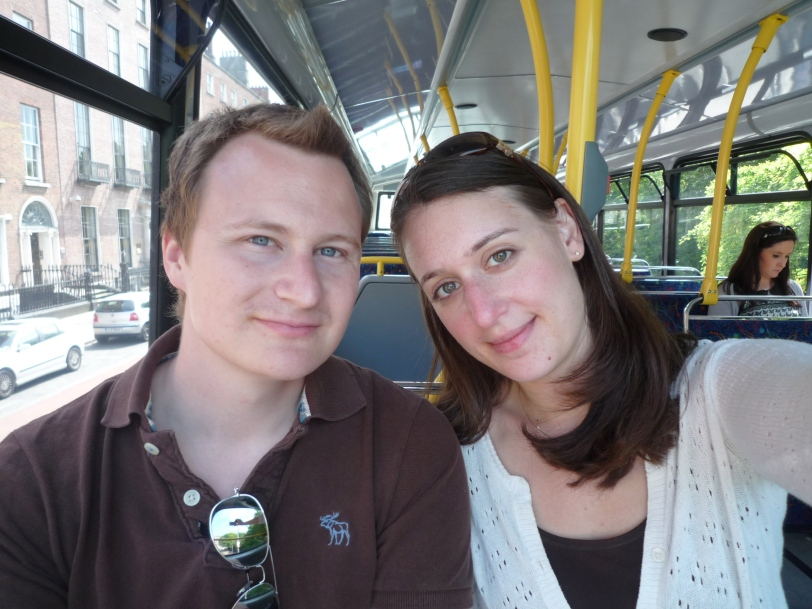 Our first bus trip!