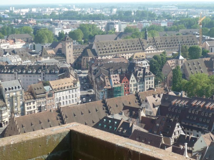 Beautiful view o Strasbourg!