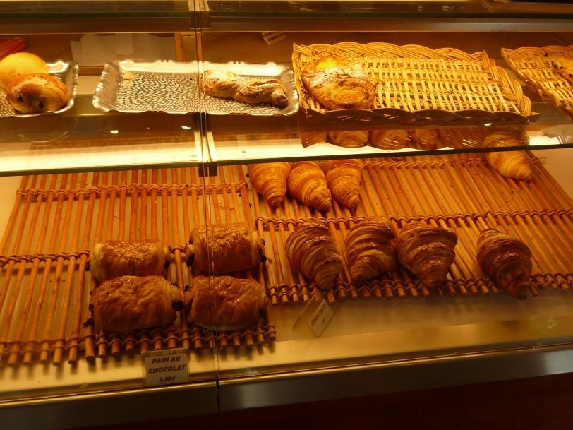 Pain au chocolat ou croissant?