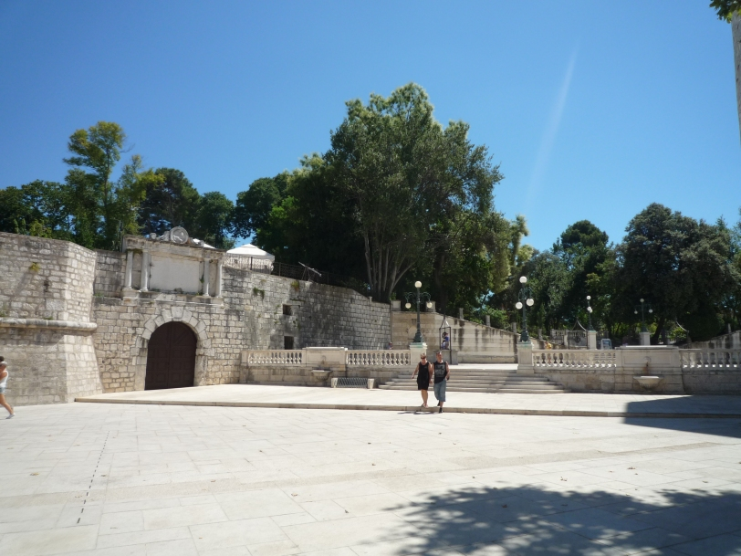 Our tour of Zadar.