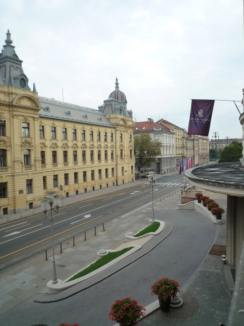 Hotel Esplanade Zagreb, a very nice hotel!