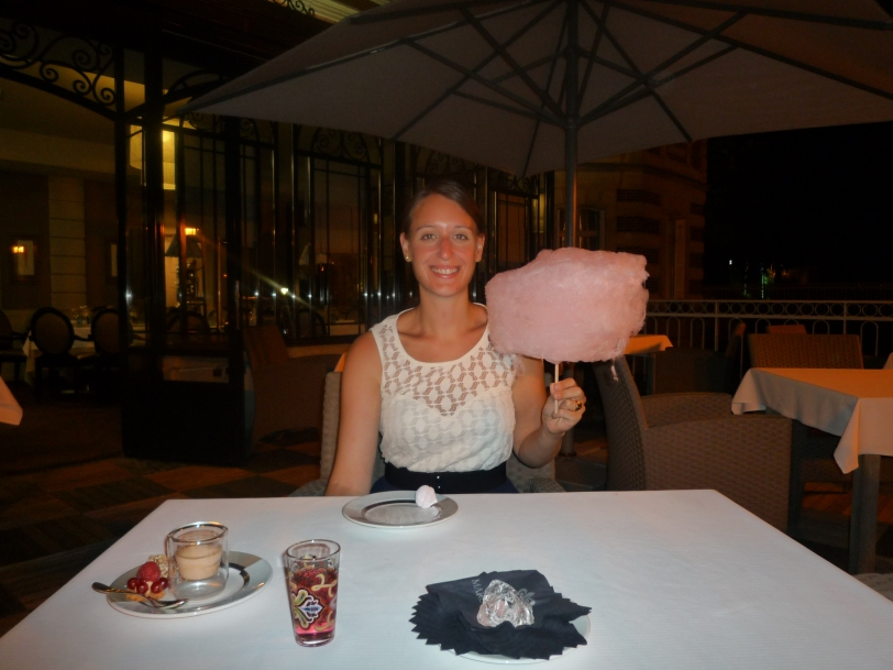 Candy floss made just for me!