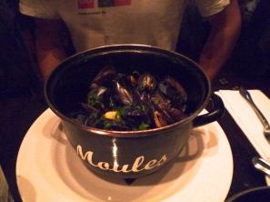 Yummy mussels.