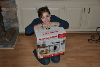 L's Christmas present from her Grandad, she was a very happy girl!
