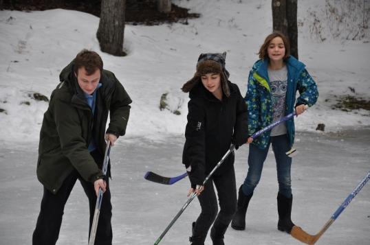 Cold family fun!