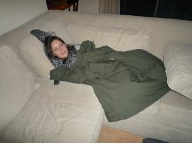 Jet-lag nap time!