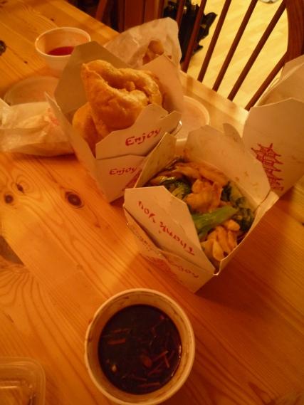 Yummy Chinese take-away!