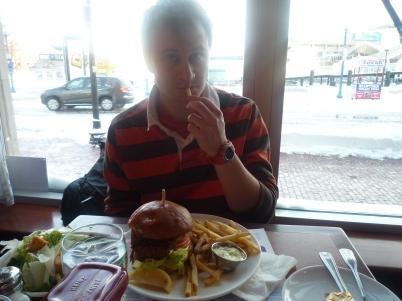 J's fish burger