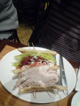 The biggest sandwich in the world!