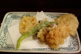 Mixed vegetable tempura