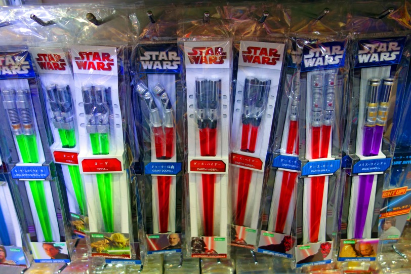 Star wars chop sticks