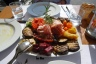 Delicious share plate from Comunale